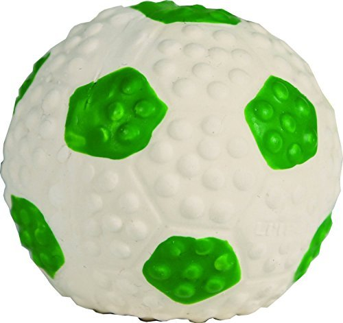 Li'l Pals Latex Soccer Ball, Perfect for Puppies and Toy Bre