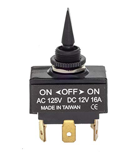 SEACHOICE 12021 3- Position Toggle Switch On/Off/On