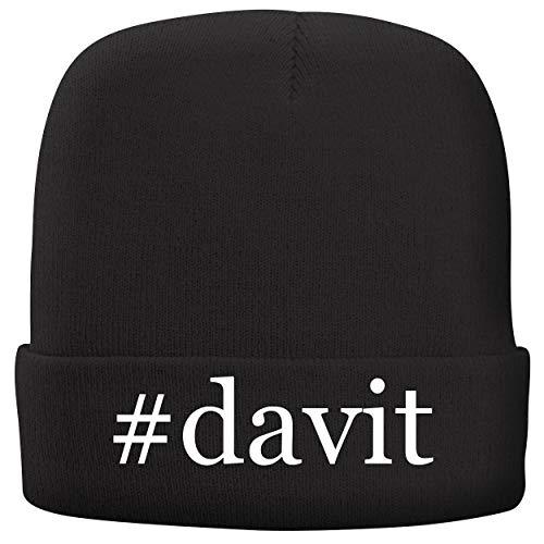 BH Cool Designs #Davit - Adult Hashtag Comfortable Fleece Lined Beanie, Black