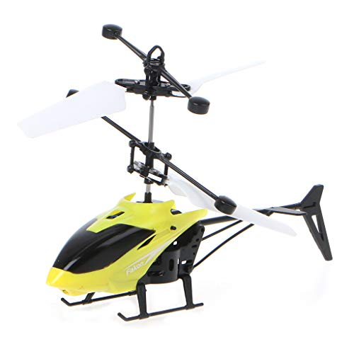 YiFeiCX Mini RC Helicopter Remote Control Infrared Induction Aircraft LED Flashing Light Drone Kids Toys
