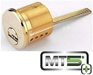Mul T Lock Mt5 Baldwin Deadbolt Cylinder Black 4 Chambers