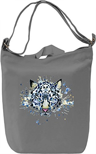 Tiger Borsa Giornaliera Canvas Canvas Day Bag| 100% Premium Cotton Canvas| DTG Printing|