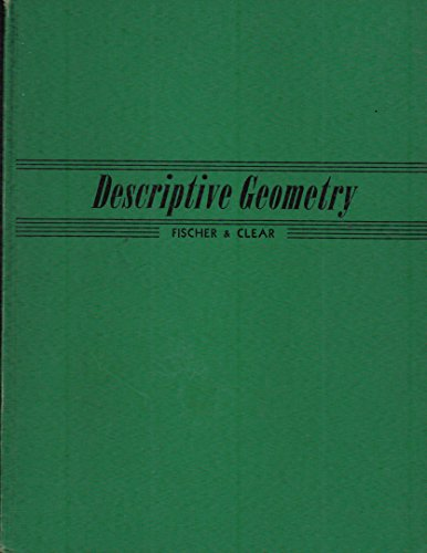 Descriptive geometry for engineering and architectural draftsmen,