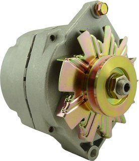 High AMP Alternator 24V NEW DELCO STYLE MARINE ALTERNATOR FITS 1-WIRE 100 (Amp 1 Alternator)
