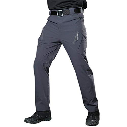 Vintage Moda Mimetici Cotone In Da Sportivi Di Pantaloni Uomo Mimetico Cargo Allenamento Combattimento Grau vc0B7