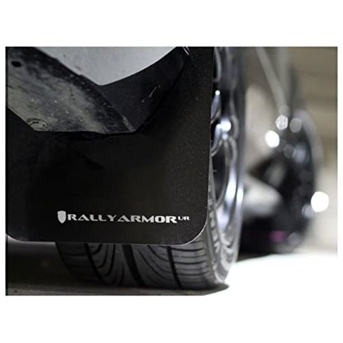 hot sale 2018 Rally Armor MF22-UR-BLK/WH Black, White Mud Flap with