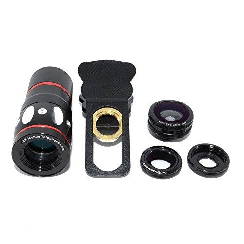 3 in 1 Macro/Fish-eye/Wide Universal Clip Lens (green) - 8