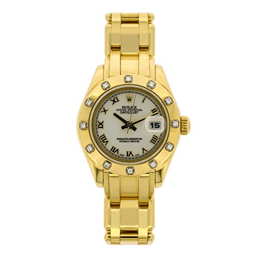 Rolex Masterpiece automatic-self-wind womens Watch 80318 (Certified Pre-owned) (Masterpiece Rolex)
