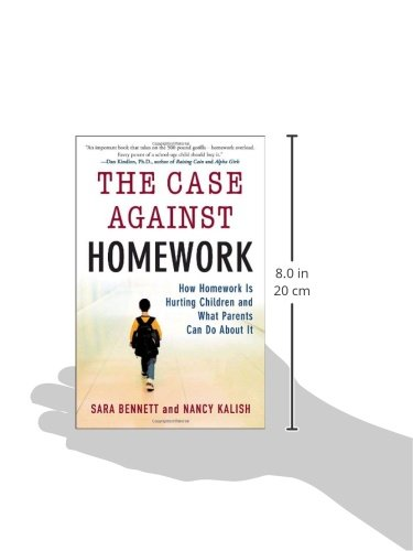 nancy kalish the case against homework