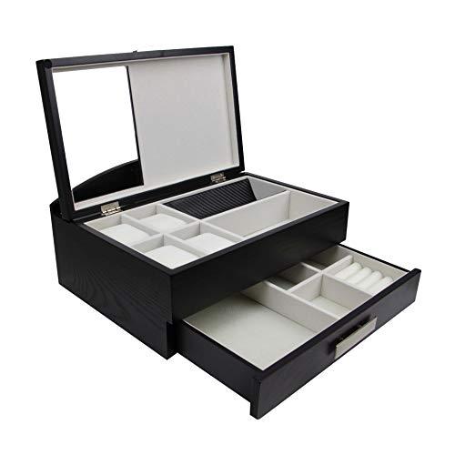 Top quality Executive Class Men Wood Valet Storage Box Organizer (Sawyer)
