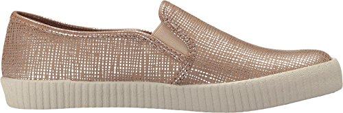 Silver Slip Embossed Camille Frye Women's Metallic Fashion Sneaker paXaHx