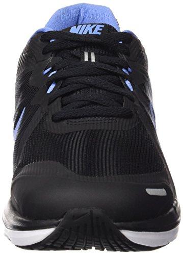 Nike Dual Fusion X 2, Chaussures de Running Compétition Femme, Multicolore Noir (Black / Chalk Blue White)