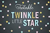7x5ft Chalkboard Twinkle Twinkle Little Star Backdrop Vinyl cloth Computer print First Birthday Baby Shower party backdrops ey487387668