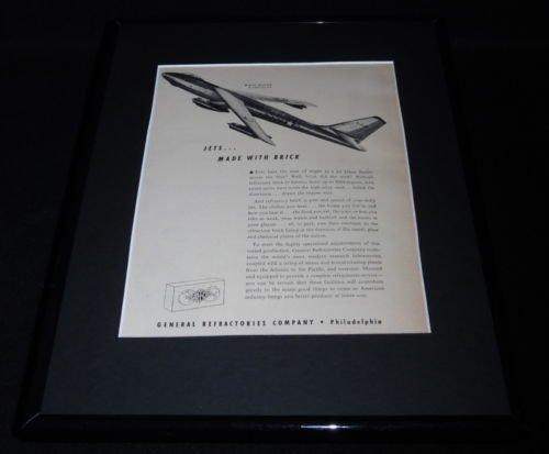 Original 1951 Framed Advertisement - 1
