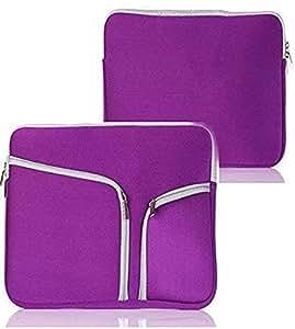 Laptop Bag Sleeve Purple Case Cover Skin HP Dell SAMSUNG Apple Macbook Air Pro Retina 13 13.6