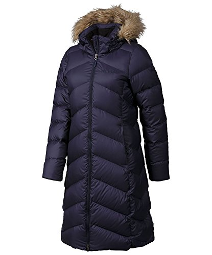 Marmot Womens  Montreaux Down Coat - Large - Midnight Navy