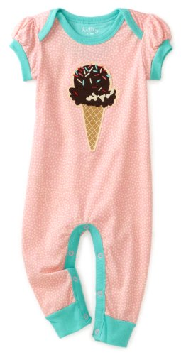 Hatley   Baby Girls' Candy Applique Day Romper