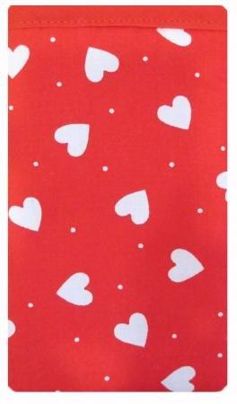 LŽger coeur rouge iPhone 5 / 5C / 5 s Sock / pochette / Case