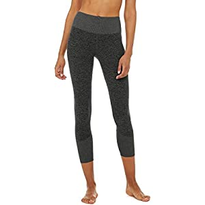 ALO 7/8 Lounge Leggings Dark Grey Heahter MD