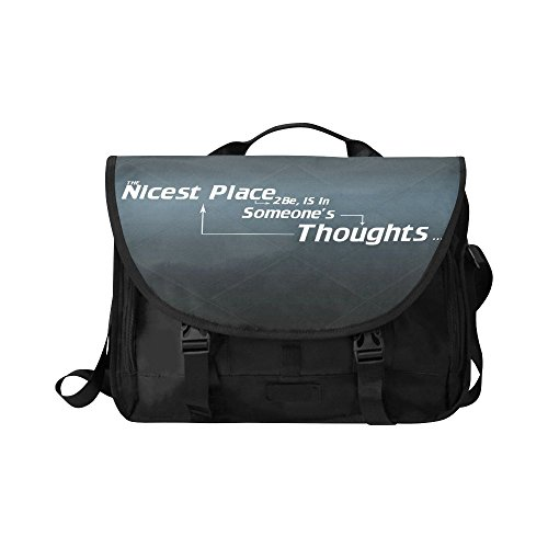 Oksty Custom The Nicest Place Oxford Fabric Messenger Bags School Laptop Bags 15 (Nicest Place)