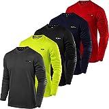 TCA Men's Element Long Sleeve Crew Neck Jogging Shirt