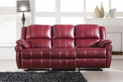 Wondrous Tcs Louis Burgundy Italian 3R 1R 1L Leather Sofa Suite Machost Co Dining Chair Design Ideas Machostcouk