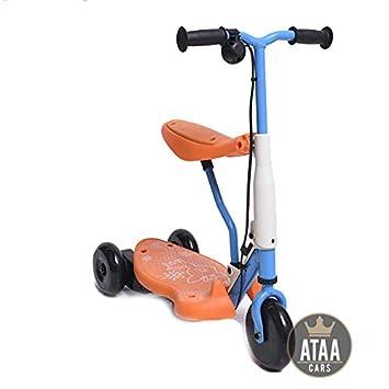 ATAA Triciclo Patinete eléctrico para niños Chick batería 6v ...