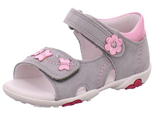 Superfit 0089-44 - Sandalias de vestir de Piel para niña GRIFFIN KOMBI