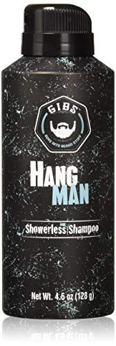 GIBS Grooming Hang Man Dry Shampoo – Volumizing, Deep Cleansing & Nourishing Hair Spray- Leaves Healthy & Moisturized Hair – 4.5 oz