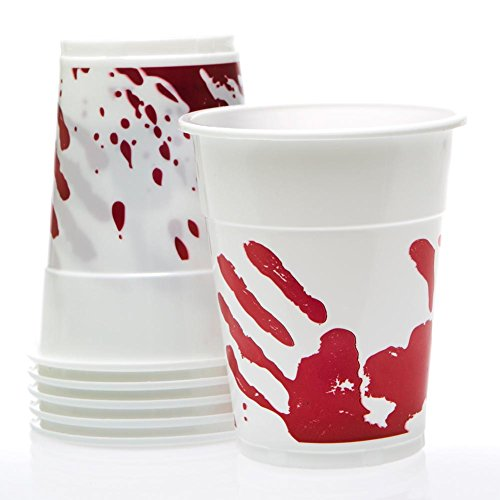 Bloody Halloween 16 oz. Plastic Cups