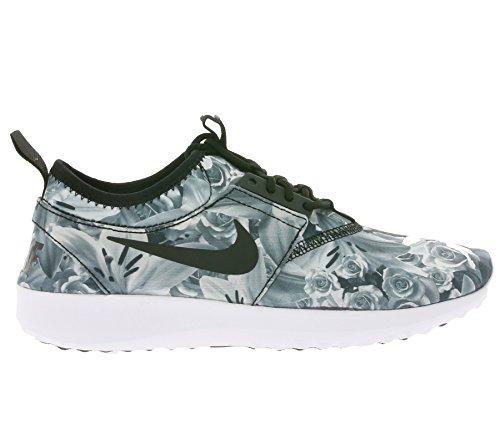 Nike, Donna, Wmns Juvenate Flo Print, Tessuto tecnico, Sneakers, Grigio