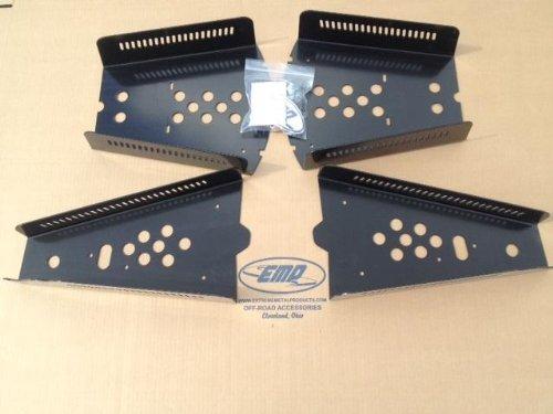 Extreme Metal Products Polaris Ranger XP900 Steel CV Guards 12008