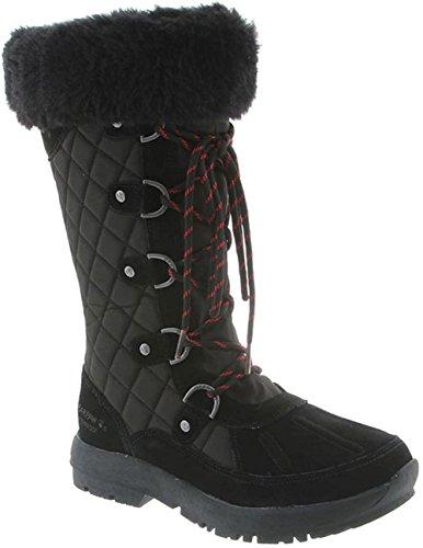 Bearpaw Quinevere Black II Womens Winter Boot Size 9M