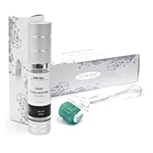 Microneedle NEW SPA Skin Care System 1.50mm Micro Needle Roller and DMAE Total Restore Serum 20ml; to stimulate and restore collagen in mature skin