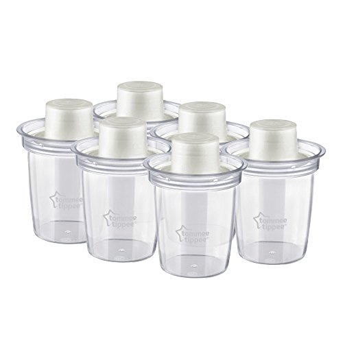 Tommee Tippee Formula Dispensers, 6-Count