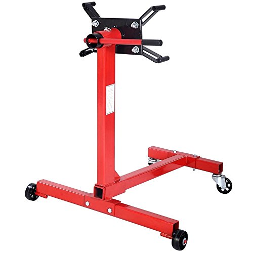 Pro 1000Lbs Shop Engine Stand Hoist Automotive Lift Rotating 4 Leg Durable Motor TKT-11 by TKT-11