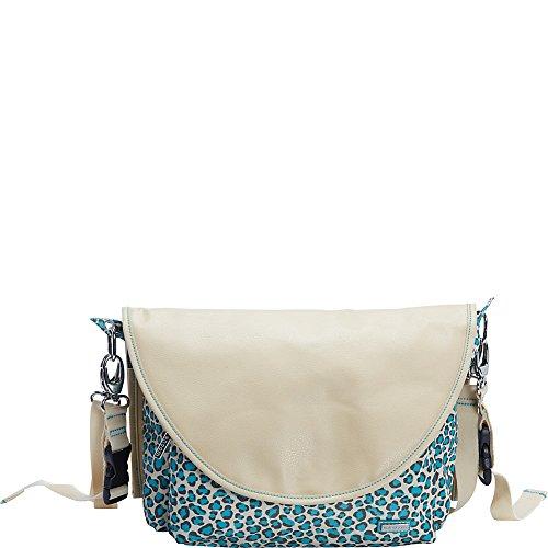 Kalencom Sidekick Diaper Messenger Bag (Primavera Cheetah)