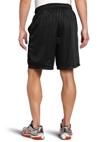 Russell Athletic Men's Mesh Short with Pockets, Black, Large by Russell Athletic (Image #2)