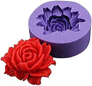 6pcs//set Cake Rose Petal Mold Decorating Fondant Sugarcraft Mould Cutters G6T6