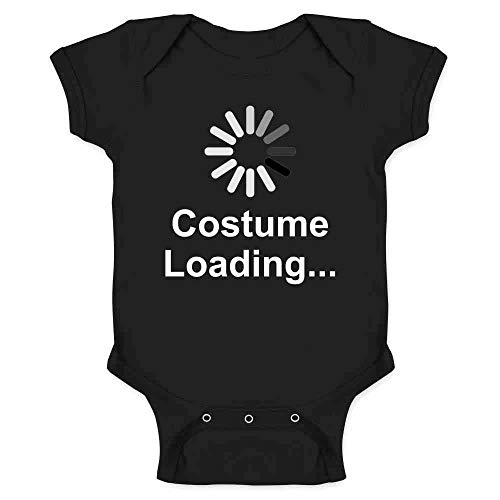 Pop Threads Costume Loading Funny Halloween Black 24M Infant -