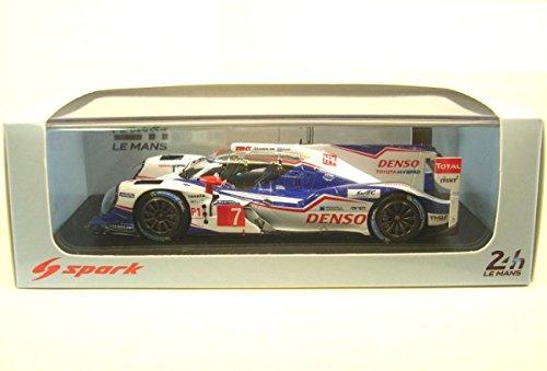 1/43 TOYOTA TS 040 - Hybrid Le Mans 2014 TOYOTA Racing A. Wurz - S. Sarrazin -K. Nakajima #7 S4202