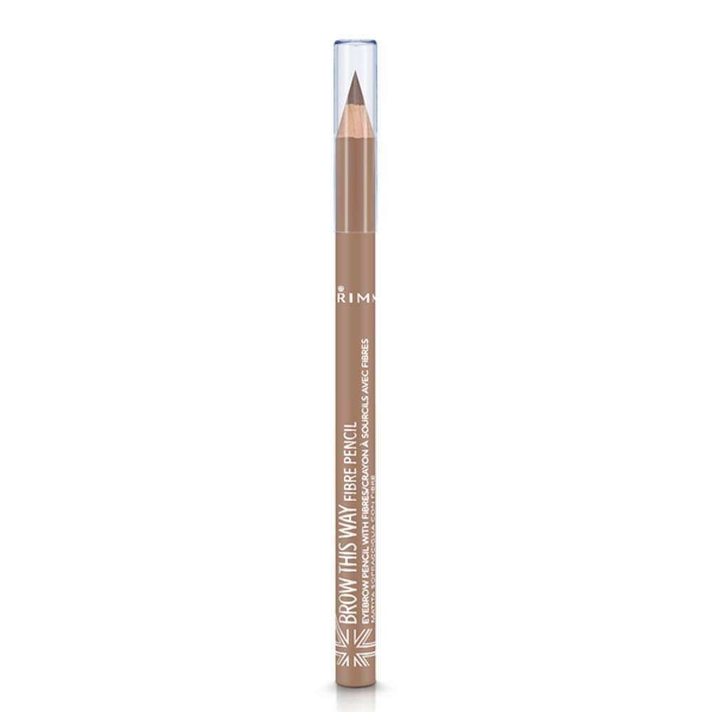 Rimmel London Brow This Way Fibre Pencil, 1.1 g, Light Coty 34774760001
