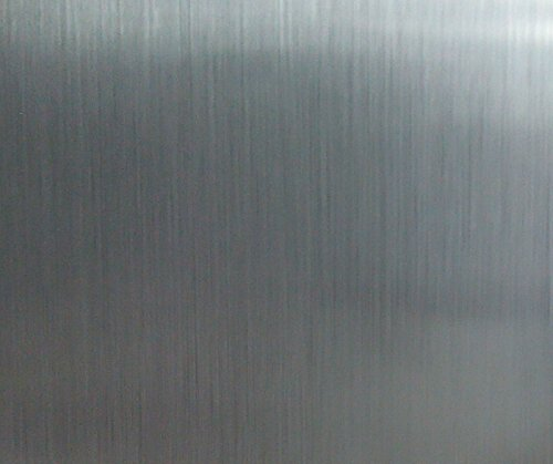 60cm*3m Brushed Stainless Steel Contact Paper Self Adhesive Vinyl Film Shelf Lin