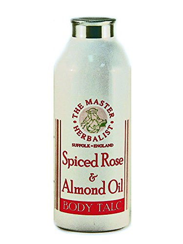 The Master Herbalist Spiced Rose & Almond Oil Body (Almond Talcum Powder)