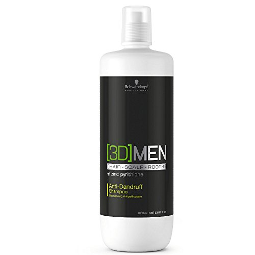 Schwarzkopf 3D Men Anti-Schuppen Shampoo 1000ml