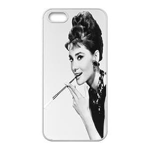 JenneySt Phone CaseAudrey Hepburn Pattern For Apple Iphone 5 5S Cases -CASE-4