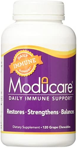 Moducare Daily Immune Support, Plant Sterol Dietary Supplement, Grape flavored , 120 chewable tablets
