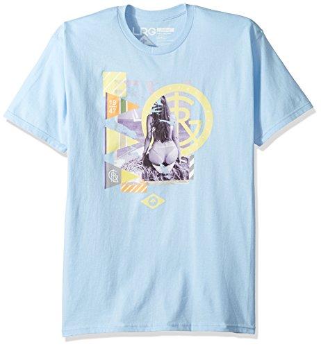 LRG Men's I Love My Beachest-Shirt, Baby Blue, Large by LRG