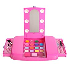 [Sponsored] Little Fairy Princess Beauty Star Lit Up Vanity Cosmetic Set With Mirror