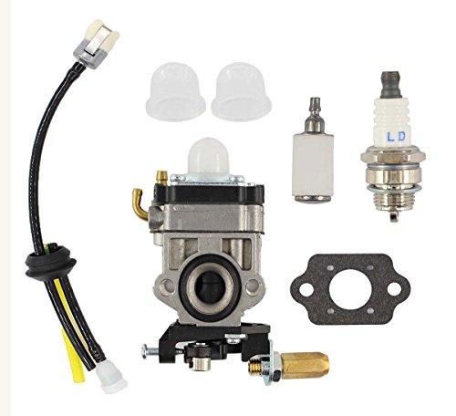Carburetor Fuel Filter Carb Tune-Up For Echo HCA-260 HCA-261 PAS-260 PAS-261 PE-260 PE-261 PPT-260 PPT-261 SHC-260 SHC-261 SRM-260 SRM-260S SRM-260SB SRM-260U SRM-261 SRM-261S SRM-261T SRM-261U Trimm